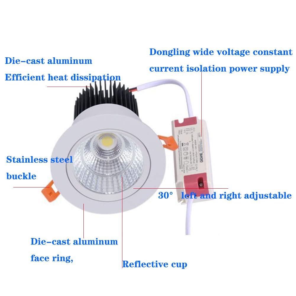 de el LED en panel techo la lámpara empotrada downlight de EH9YWD2I