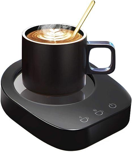 Calentador De Tazas De Caf/é Calentador De Tazas USB De Temperatura Constante Calentador De Bebidas Con Apagado Autom/ático Para Uso Dom/éstico Oficina t/é, Leche, Cacao, Sopa O Agua