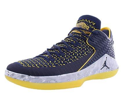 premium selection 64c61 8abe9 Air Jordan XXXII 32 Low Michigan Wolverines Basketball Shoes AA156-405 (9)