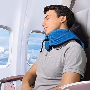 Langria 6-in-1 Long Haul Astronaut Memory Foam Travel Pillow