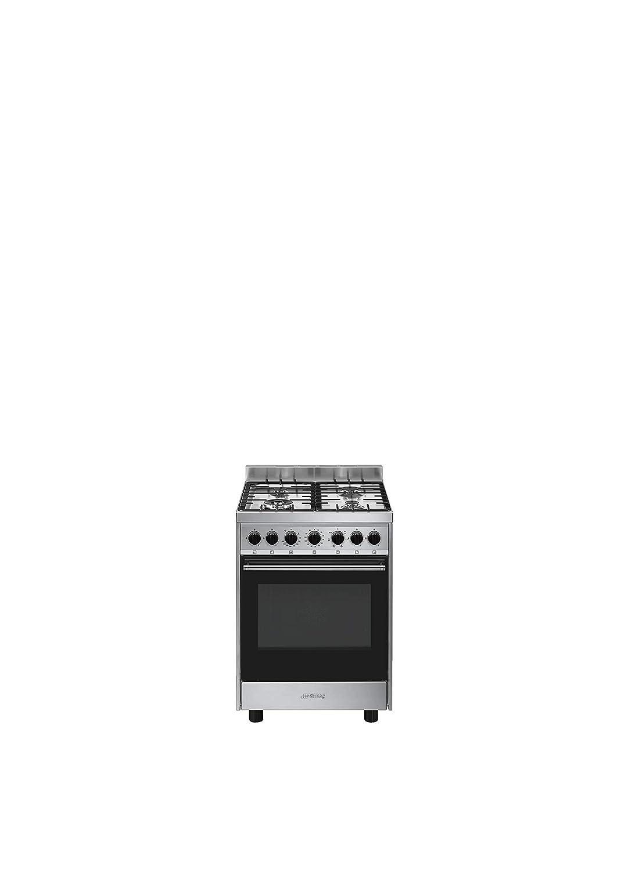 Smeg B601GMXI9 - Cocina (Cocina independiente, Acero inoxidable ...
