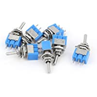 sourcing map 7Pcs 2 Posiciones DPDT AC125V/ 6A