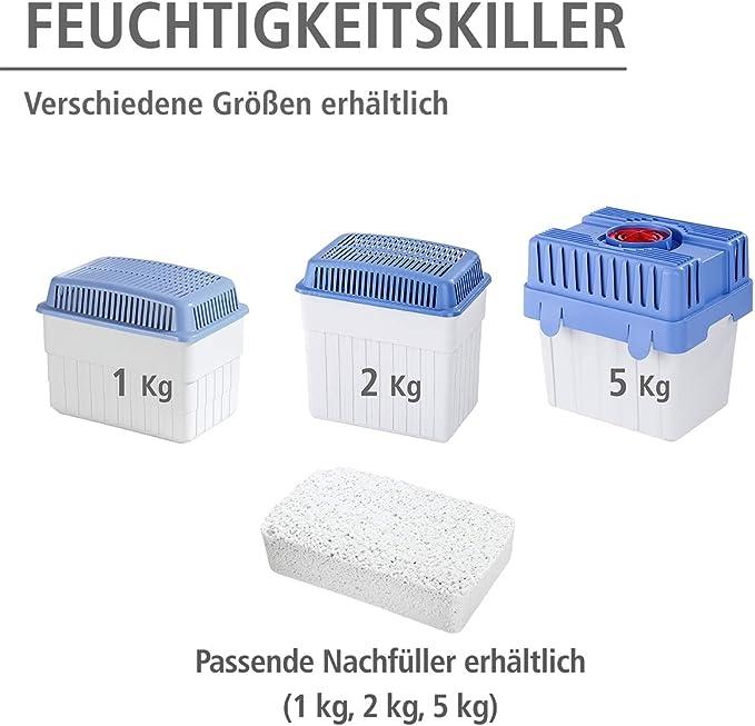 Luftentfeuchter Raumentfeuchter Box mit 2x 1,2 kg Nachfüllern Lufttrockner