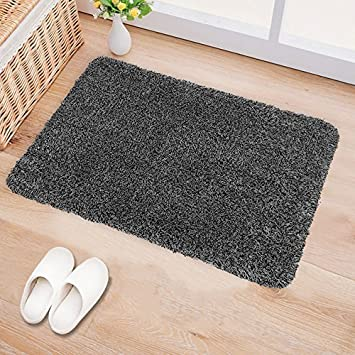 Bu0026G Indoor Doormat Super Absorbs Mud Latex Backing Non Slip Door Mat For  Front Door Inside