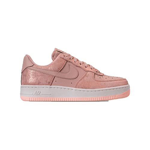 Nike Women's Air Force 1 '07 PRM Metallic Red BronzeCrimson TintParticle Beige 616725 901