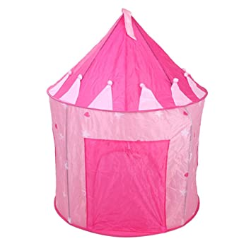 OutMall Kids Play Tent Indoor/Outdoor Pink Princess Castle Play Tent with Glow in  sc 1 st  Amazon.com & Amazon.com: OutMall Kids Play Tent Indoor/Outdoor Pink Princess ...