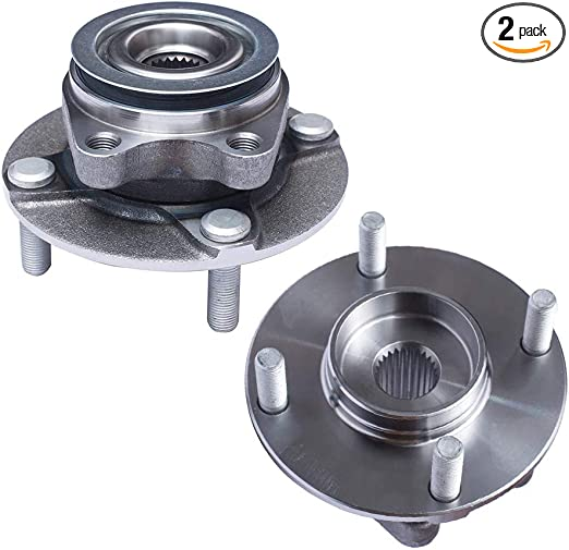 Pair DRIVESTAR 513308 Front Wheel Hub /& Bearing Assembly fit for Nissan Versa 2007 08 09 10 11 2012 4 Lugs w//ABS