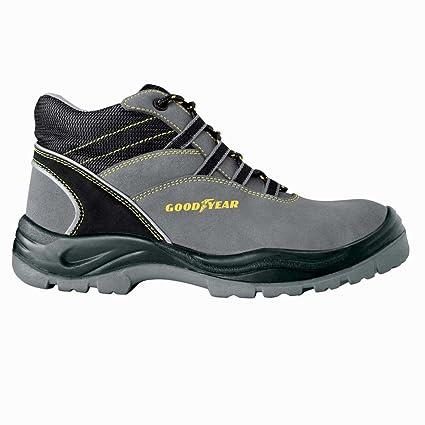 Zapatos de seguridad GoodYear 107 Alte S1P, gris