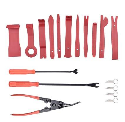 Juego de herramientas de extracción automática para panel de puerta esmerilado, kit de herramientas de