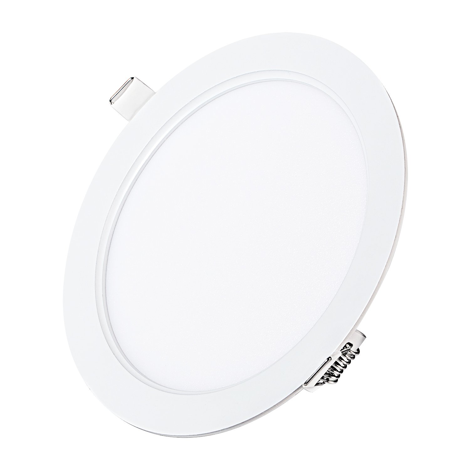 9W 5'' Dimmable LED Recessed Panel Light,Ultra-Thin Round LED Panel Light,4000K Neutral White,720lm,LED Recessed Ceiling Downlight Fixture,110V LED Driver Included