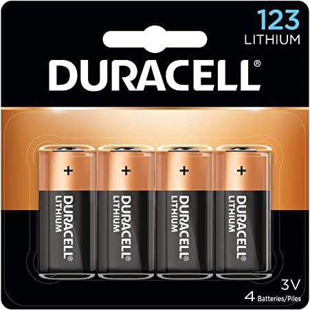 Duracell - 123 High Power Lithium Batteries - 4 count