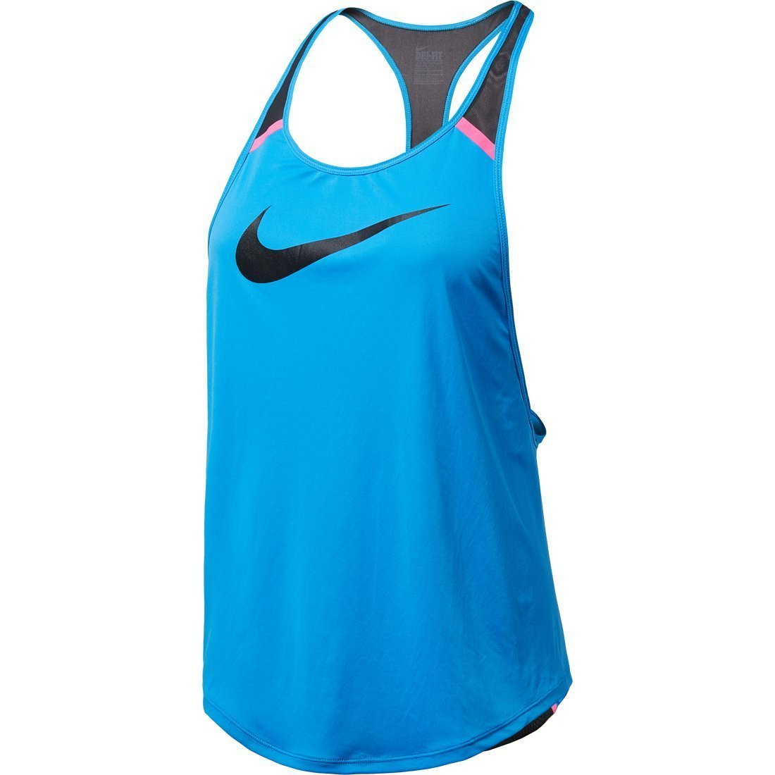 Activewear Tops Nike Tank Top Black With White Trim Xl Drip-Dry
