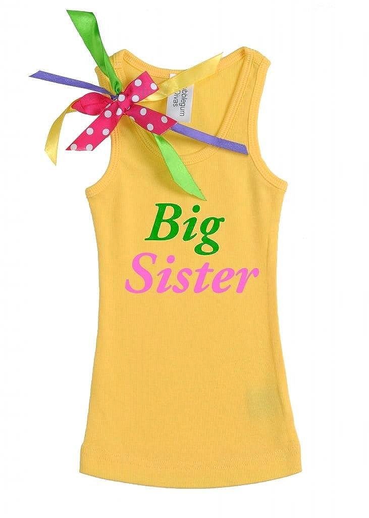 Bubblegum Divas Little Girls Big Sister Tank Top