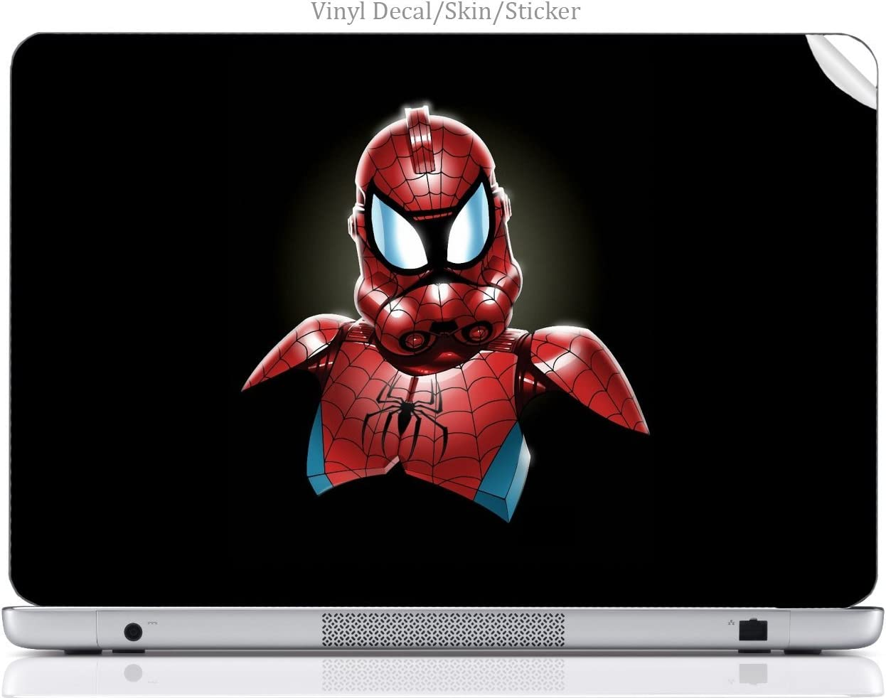 Laptop VINYL DECAL Sticker Skin Print Spiderman StormTrooper Art fits Hp Elitebook 8460p