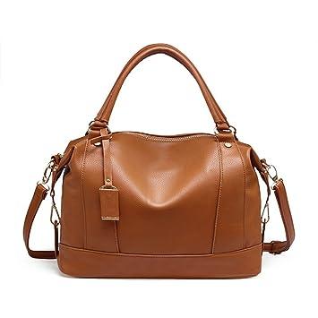 c4d9cc7f7aa El bolso para mujer de los bolos del bowling del bolso empaqueta el bolso  royal azul de cuero de la PU de la manera  Amazon.es  Equipaje