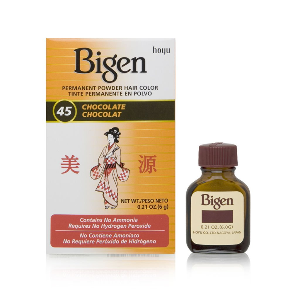 Amazon Com Bigen Permanent Powder Hair Color Rich