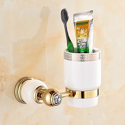 ZZB Jade taza del cepillo de dientes/Cepillo de dientes titular/sostenedor del vaso