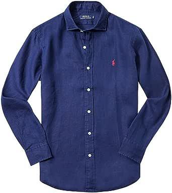 Polo Ralph Lauren Featherweight Mesh-LSL-knt Camiseta de Manga Larga para Hombre