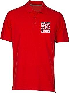 T-Shirtshock Polo Uomo Rosso FUN2125 im Kind of a Big Deal in Canada