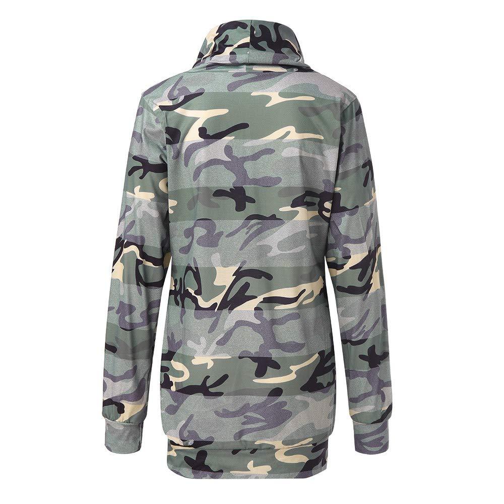 c534806688b4 JMETRIC Damen Sweatshirt Sweatshirt Hooded Sweat Pullover Pulli  Tshirt Top    Casual T-Shirts   Kängurutasche  Amazon.de  Bekleidung