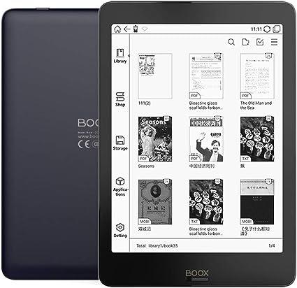Docooler BOOX NOVA - Lector de libros electrónicos para e-reader 300PPI (luz frontal bicolor, UItra HD Ereader 2G/32 GB, Android 6.0 de 4 núcleos, e-reader, 7.8