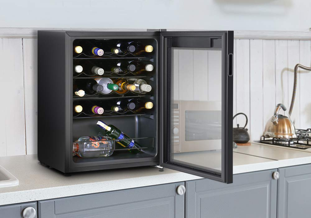Inventor Vino, Nevera para Vinos de Compresor, 66 litros de ...