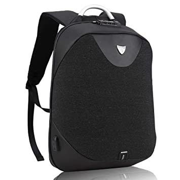 Nomad Laptop Rucksack zum Herren Arctic Hunter Diebstahlschutz Business Rucksack mit USB Zum Notebook