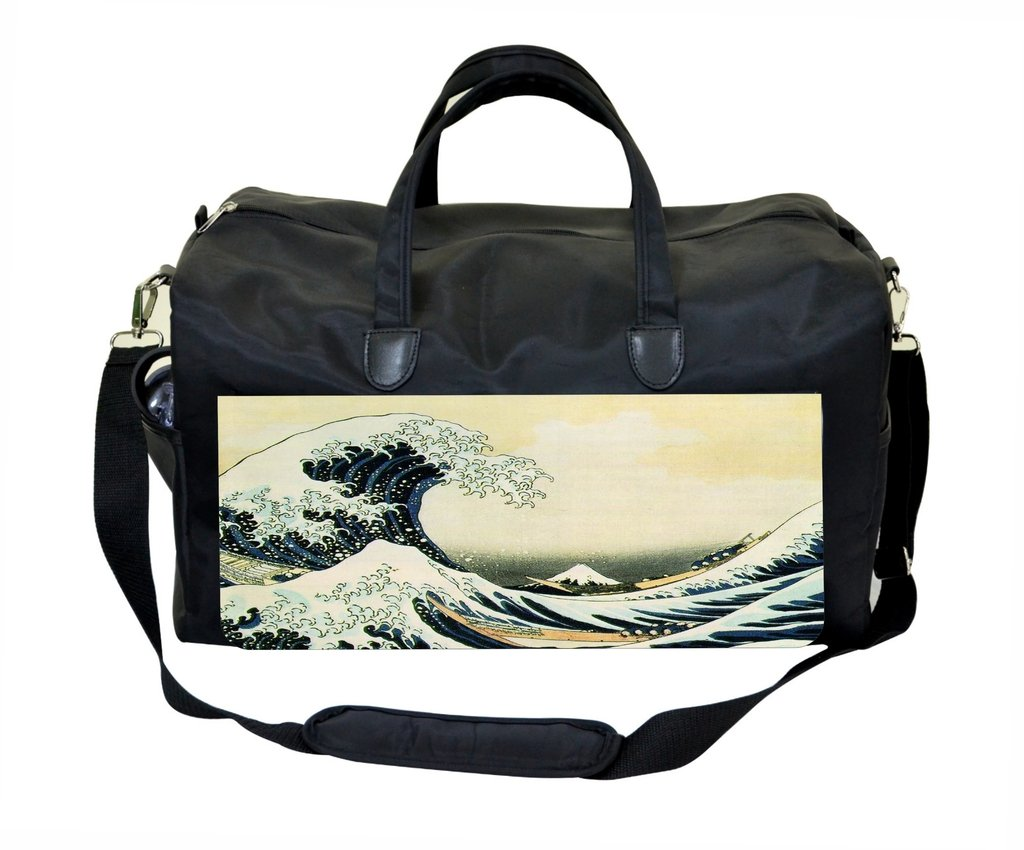 The Great Wave Off Kanagawa Weekender//Overnighter Bag