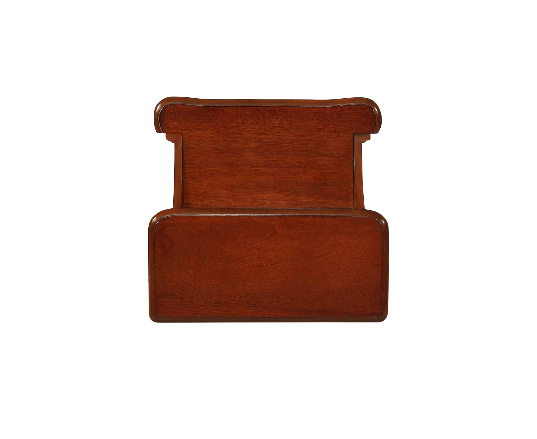 Powell Woodbury Mahogany Bed Step with Storage