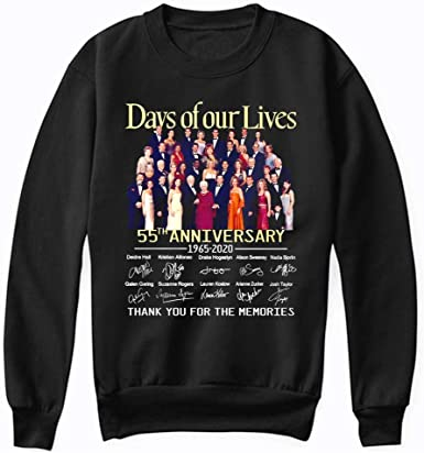 Man anniversary 55 Years of Days Of Our Lives 2020 shirt New Collection T shirt for Woman