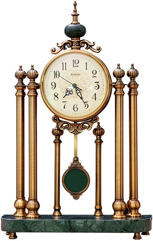 Relojes de escritorio Relojes De Mesa Movimiento Silencioso Reloj ...