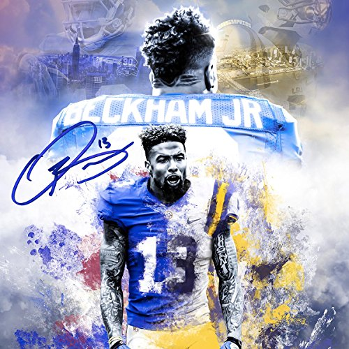 Odell Beckham Jr poster wall decoration photo print