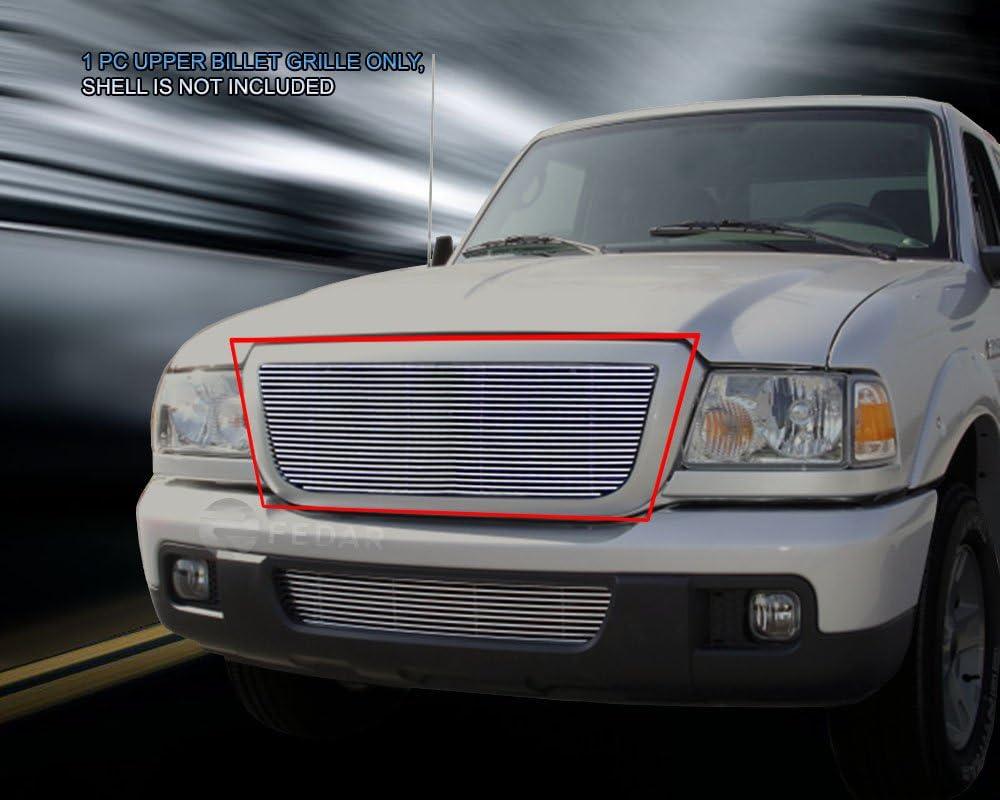 Fedar Main Upper Billet Grille Insert for 2006-2012 Ford Ranger