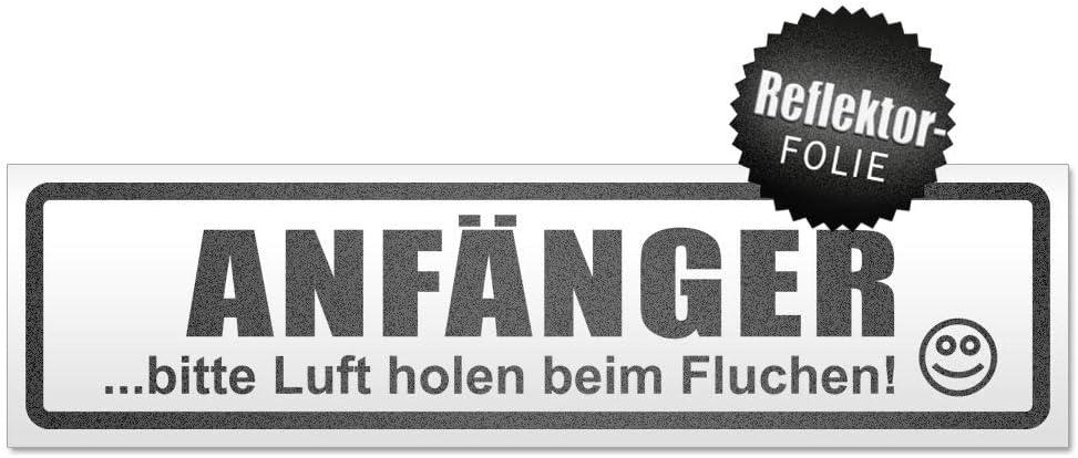 Kiwistar Anfänger Bitte Luft Holen Magnetschild Schild Magnetisch Auto