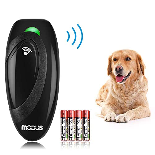 Modus-Anti-Barking-Device,-Ultrasonic-Dog-Bark-Deterrent-and-2-in-1-Dog-Training-Aid-Control