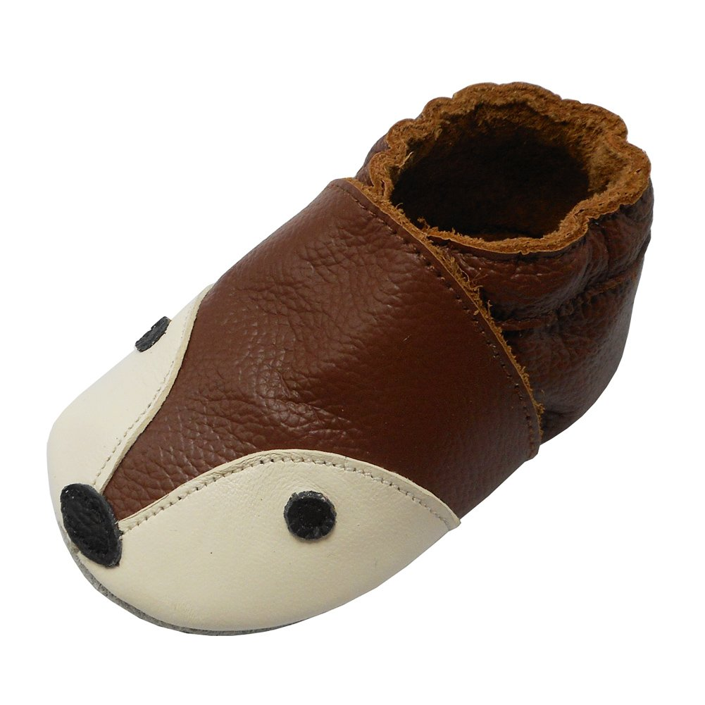 dfbdfdacfea5  SOFT LEATHER YIHAKIDS baby leather shoes are made of flexible soft genuine  cowhide leather with a non slip suede sole