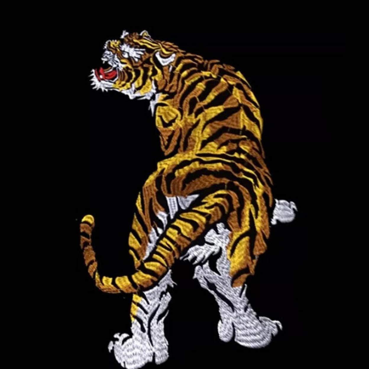 XINGSd Pragmatic Tiger - Parche Bordado para Coser o Planchar ...