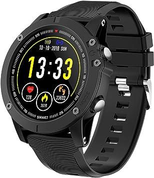 HolyHigh Reloj Inteligente Bluetooth Impermeable IP68 Pulsera de ...
