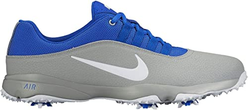 Independencia Necesitar Hueso  Amazon.com: Nike- 2016 Air Rival 4 Golf Shoes, Wolf Grey/Blue/White, 8 M  US: Shoes