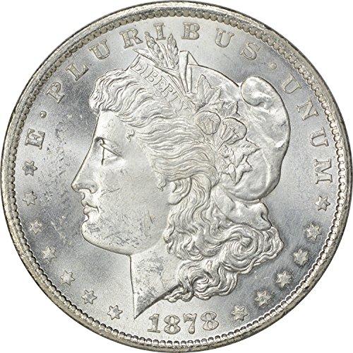 1878 CC Morgan Dollar MS60