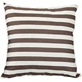 Simple Striped Home Body Pillowcases,Highpot Simpel Style Design A Variety of Striped Square Plush Cover Cushion (2A)