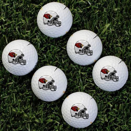 (NFL Arizona Cardinals Golf Ball, Pack of 6 by Wilson)