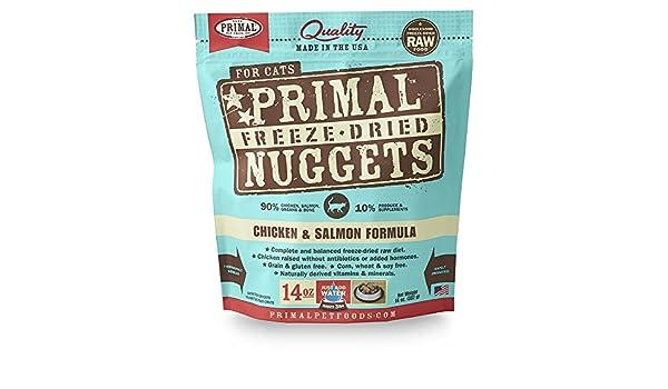 Primal Mascota Alimentos Feline liofilizado de Pollo y ...