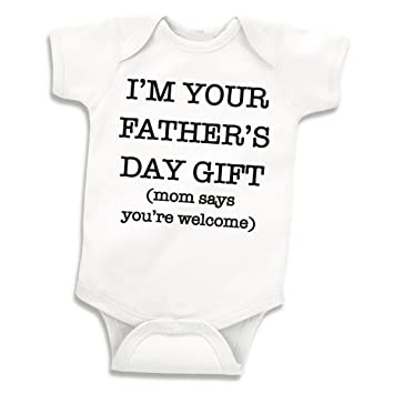 6d28ccb6b Image Unavailable. Image not available for. Color: Fathers Day Onesie ...