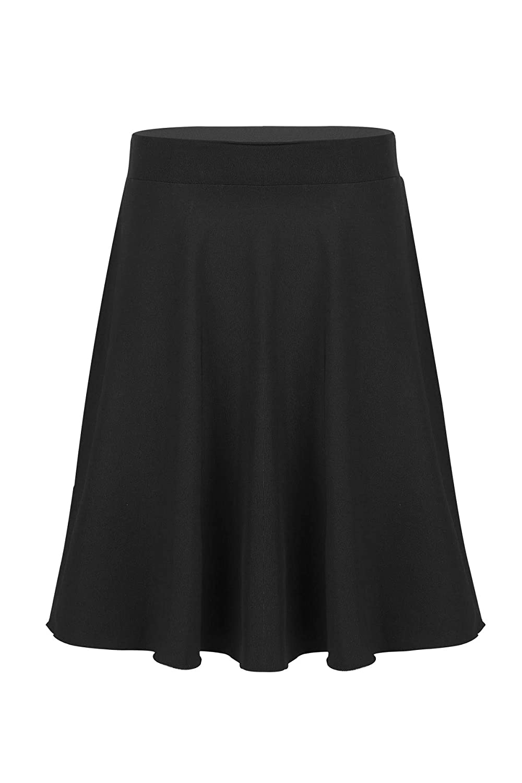 Agoky Kids Girls Long Maxi Skirt Celebration of Spirit Praise Dance Performance for Casual Party School Uniform Dance Dress