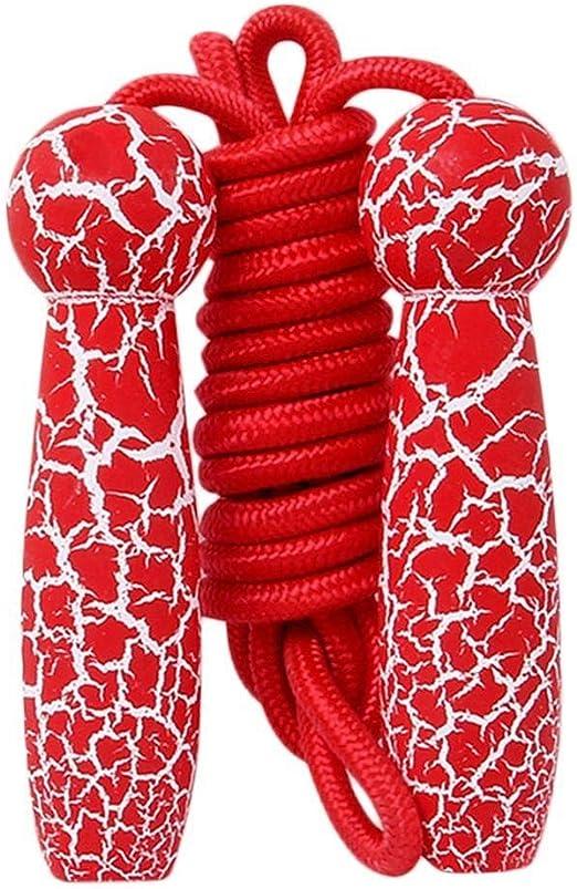 Dongwall Ajustable for niños Saltar la Cuerda Cuerda de algodón ...