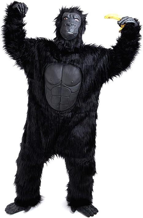 Gorilla Ape Monkey Full Plush Body Suit Boys Child Costume