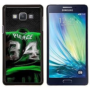 Pierce 34- Metal de aluminio y de plástico duro Caja del teléfono - Negro - Samsung Galaxy A7 / SM-A700