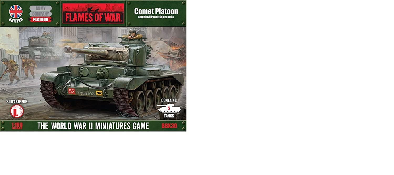 Comet Platoon  WWII Miniatures Game