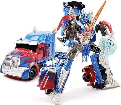EASTVAPS Transformers Optimus Prime Robot Toy: Amazon.es: Juguetes y juegos